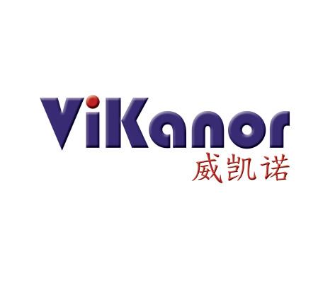Logo utformet av Sissel Slåttedal, Form og Fantasi, for ViKanor